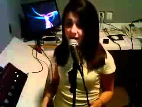 Ariana Grande Singing Just For Now By Imogen Heap