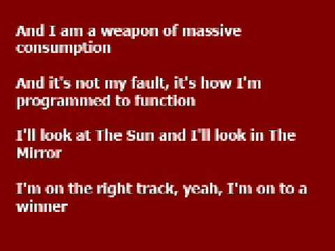 The Fear (clean) - Lily Allen lyrics
