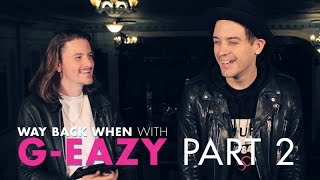 G-Eazy Talks First Time Performing & Raps The First Lyric He Was Proud Of