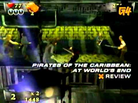 X-Play – Pirates Of The Caribbean At Worlds End (Wii) review