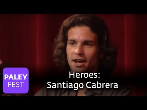 Heroes - Santiago Cabrera's Audition (Paley Center, 2007)