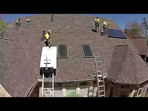 Solar Panel Rooftop Installation