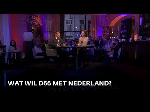 Wat wil D66 met Nederland? Alexander Pechtold in Nieuwsuur