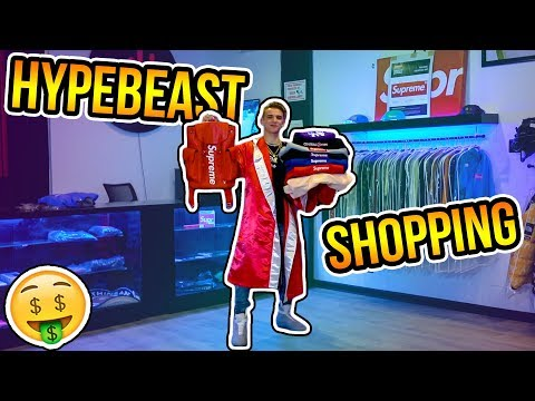 Buying the Rarest Supreme Clothes in the World! (Hypebeast S