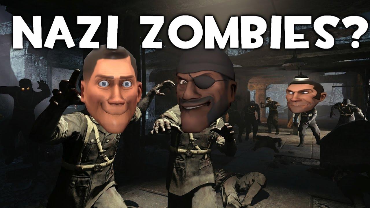 Nazi Zombies In Tf2 Youtube
