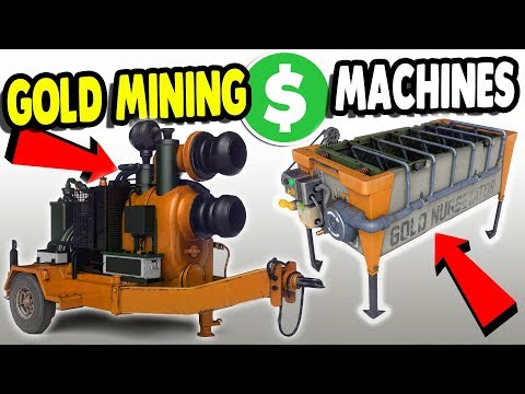 THEY PUT NEW STUFF IN BEST GAME EVER | $1,000,000,000 Gold Mining | Gold Rush The Game