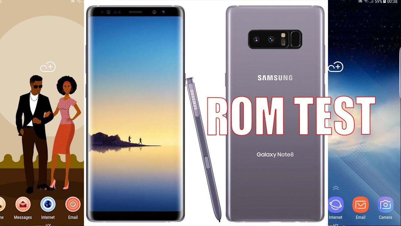 New TEST Galaxy Note 8 ROM For Note 3 SM-N900 (2018)