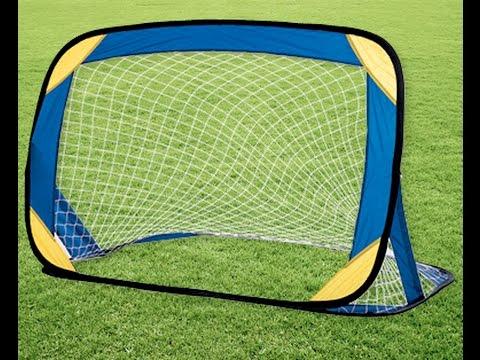 crane pop up soccer goals unboxing review youtube. Black Bedroom Furniture Sets. Home Design Ideas