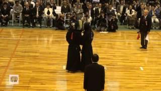 13th All Japan Invitation 8-dan Taikai — Final