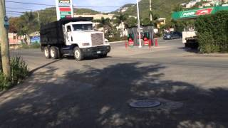 Freightliner Dump Truck Sneezing Up The Place!!!!!!
