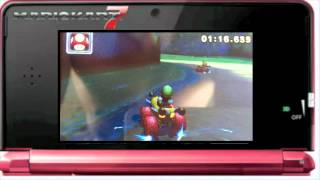 Mario Kart 7 Time Trail WORLD RECORD on DS Luigis Mansion