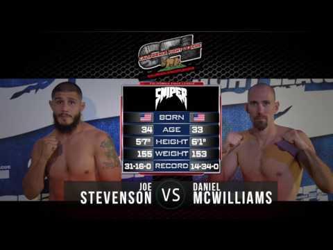 Joe Stevenson vs Mc Williams CFL VIII, July 30th 2016
