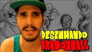 Desenhando Dragon Ball. Todo mundo desenha Dragon Ball