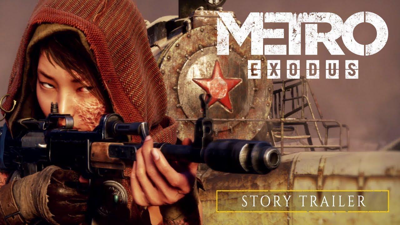 Metro Exodus - Story Trailer [RU]