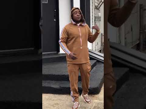 Jadakiss in TRENTON NJ filming live on Kirkbride Ave