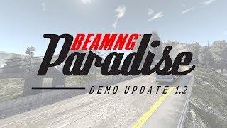 BeamNG Paradise Demo Update 1.2 | Launch Trailer