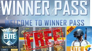 HOW TO GET FREE WINNER PASS IN PUBG MOBILE LITE  SEASON 7 | FREE WINNER PASS | PUBG MOBILE LITE