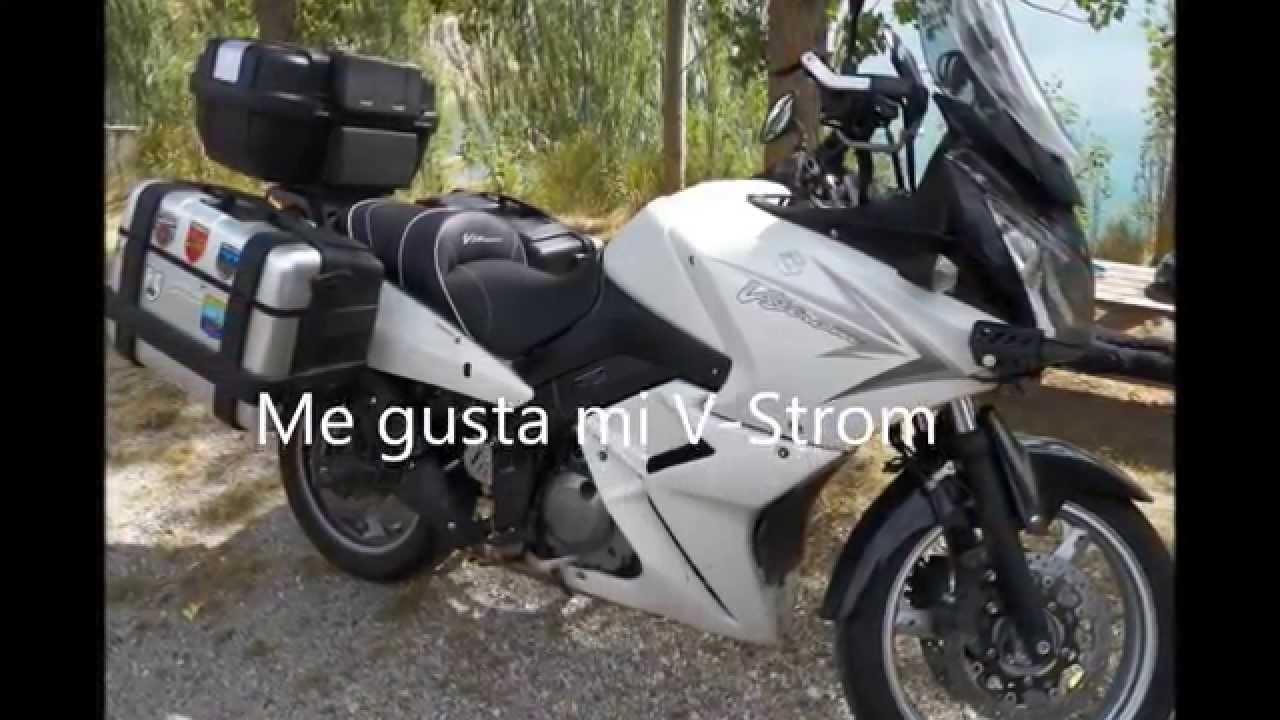 Tapiceria moto suzuki v strom lolo p manes youtube for Tapiceria de asientos de moto
