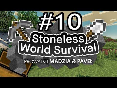 Stoneless World Minecraft Survival #10 /w Paveł [End]
