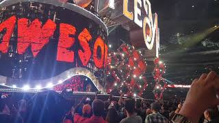 The Miz Wrestlemania 34 Entrance Audience PoV