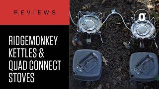 CARPologyTV - RidgeMonkey Quad Connect Stove & Square Kettle Review
