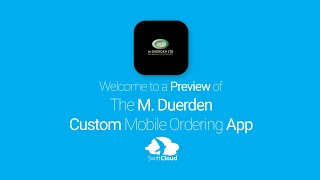 M. Duerden - Mobile App Preview - MDU650W