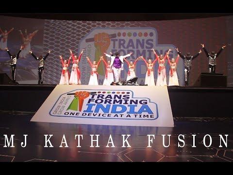 Michael Jackson with Kathak Fusion Delhi Mumbai Zenith Dance Company, Troupe, Academy