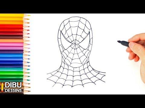 meilleures collections spiderman new generation dessin facile - random spirit