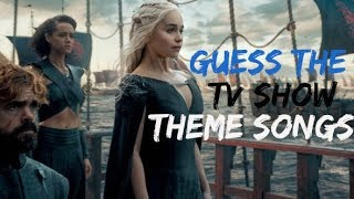 Guess The TV Show Theme songs