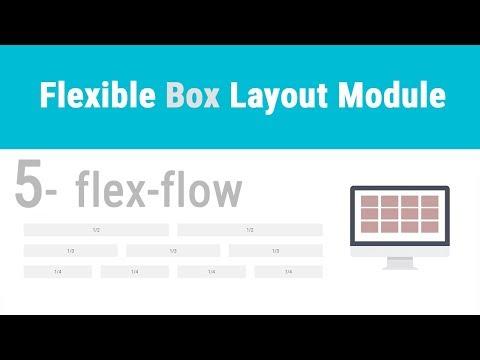 CSS: Flexbox - 05  flex-flow