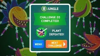 PLANT - Knife Hit Jungle Challenges