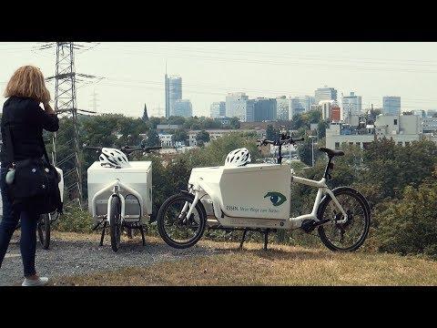 Neue Lastenräder für Essens Grüne Wege