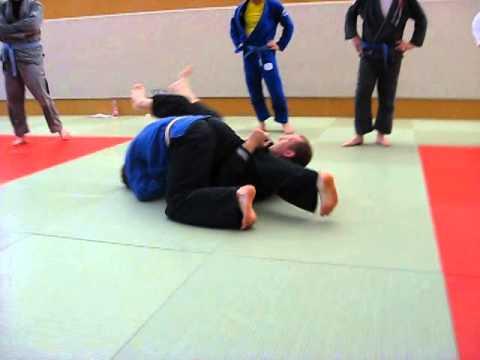 Robert Thompson Seminar Omoplata Sweep - Grappling Team Dresden