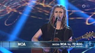 Moa Lignell - When I Held Ya (Final) - Idol 2011