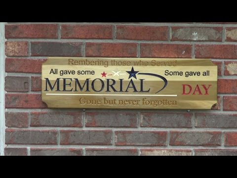 Making a Memorial Day sign on the CNC