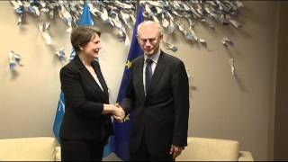 Meeting with the Under-Secretary General of the United Nations Development Programme,  Helen Clark