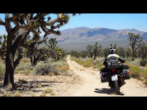Solo Africa Twin National Park ride through Yosemite, Sequoia, Kings Canyon, Zion and Mojave Desert