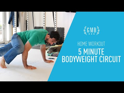 Home Workout - 5 Minute Bodyweight Circuit