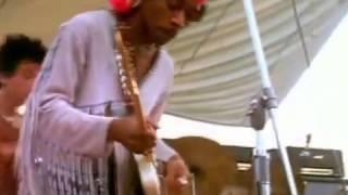 Jimi Hendrix Live at Woodstock 1969