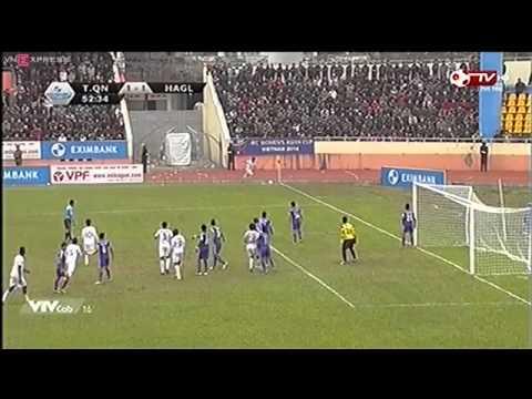 Vòng 6 V League  Than Quảng Ninh 3 - 2 Hoàng Anh Gia Lai