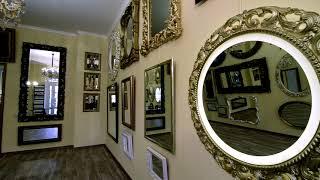Красивые интерьерные зеркала в рамах