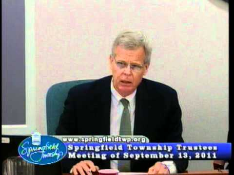 Part 2 Civil Rights Violations Springfield Township Ohio September 2011 Trustees Meeting