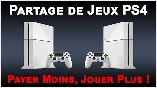 ☆ Partage De Jeux PS4 / Payer Ses Jeux A Deux ☆