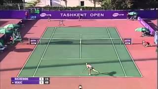 Donna vekic v Lyudmyla Kichenok WTA tashkent Highlights