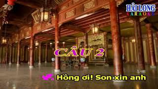 KARAOKE TRÍCH ĐOẠN TÌNH HẬN THÂM CUNG 2 SONG CA