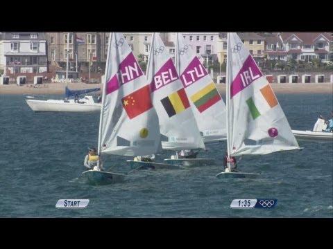 Women's Laser Radial Sailing Final Full Replay - London 2012 Olympics