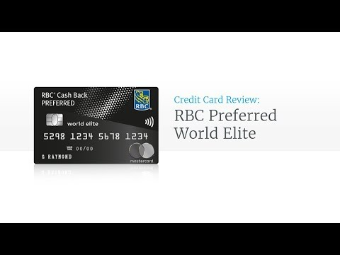 RBC Cash Back Preferred World Elite Mastercard Review