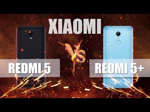 Xiaomi REDMI 5 против Xiaomi REDMI 5 Plus : Сравнение