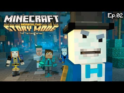 Minecraft: Modo História 2ª TEMPORADA - O VERDADEIRO ADMIN. (Ep. 2) Parte 2