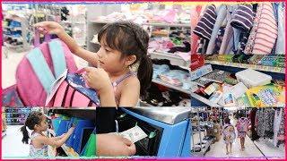 Compras De Regreso A Clases! Utiles Escolares y Mochilas Para Las Niñas|MicaelaDIY